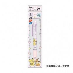 Stylo 3 Couleurs Pikachu et Évoli japan plush