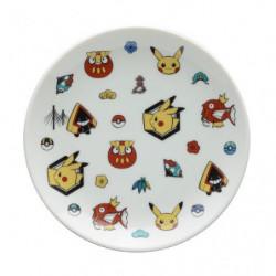 Assiette ronde motif Pokémon Center Kanazawa japan plush