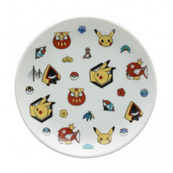 Round plate pattern Pokémon Center Kanazawa japan plush