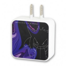 AC Adapter Gengar USB 2 Port japan plush