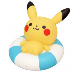 Water Gun Pikachu monpoké Swim Ring japan plush
