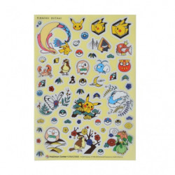 Sticker PET Pokémon Center Kanazawa japan plush