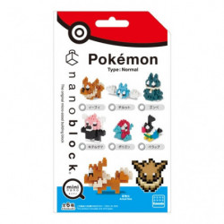 Nanoblock Pokémon Normal Type