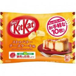 Kit Kat Mini Strawberry Cheese Cake