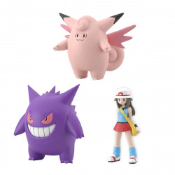 Figure Leaf Clefable Gengar Scale World Kanto