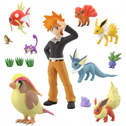 Figure Region 2 Set Scale World Kanto