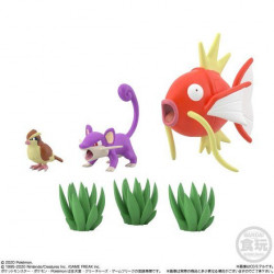 Figure Roucool Rattata Magicarpe Scale World Kanto
