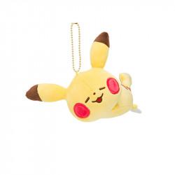 Peluche porte-clés Pikachu Nesoberi Yurutto
