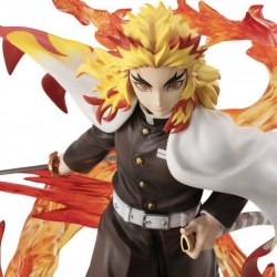 Figure Kyojuro Rengoku Flame Breathing Demon Slayer: Kimetsu no Yaiba G.E.M. Series