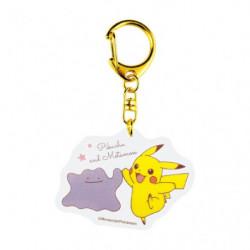 Acrylic keychain Pikachu et Métamorph Good Friends