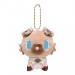 Plush Keychain Mascot Pokemon Doll Rockruff japan plush