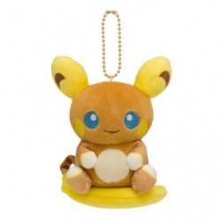 Plush Keychain Mascot Pokemon Doll Alolan Raichu japan plush