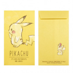 Envelope Pikachu number025 Up