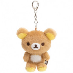 Fluffy Keychain Plush Rilakumma