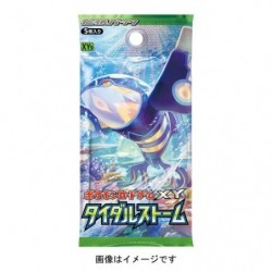 Booster Card Tidal Storm japan plush