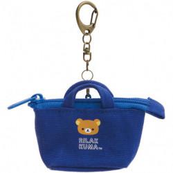 Porte-clés Rilakkuma 2WAY Bleu
