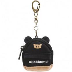 Keychain Rilakkuma Black Backpack