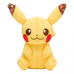 Plush Pikachu Chirimen japan plush