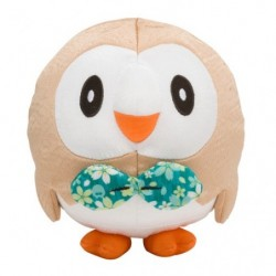Plush Chirimen Rowlet japan plush