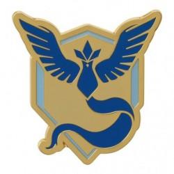 Badge Pokemon GO Blue Team japan plush