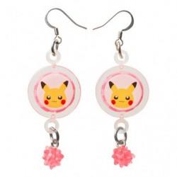 Boucle d'oreilles Pikachu japan plush