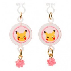 Earring Pikachu japan plush