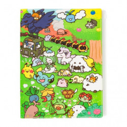Pochette transparente A4 Pokémon Yurutto