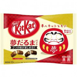 Kit Kat Mini Yume Daruma