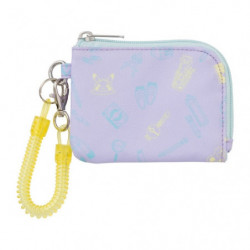 Coin Case Pikapika School Pale Purple