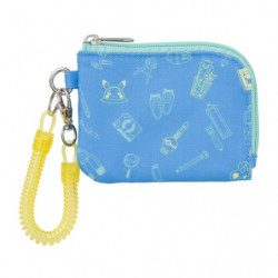 Coin Case Pikapika School Blue