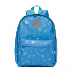 Backpack Pikapika School Blue