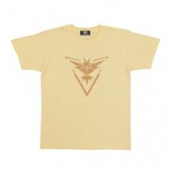 T shirt Pokemon GO Yellow Team XL Size japan plush