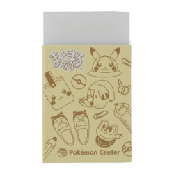 Eraser Pikapika School Yellow