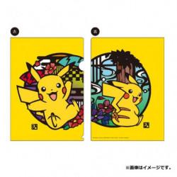 Clear File Pikachu Kirie Series