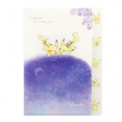 Pochette Index Pikachu number025 Starry Sky