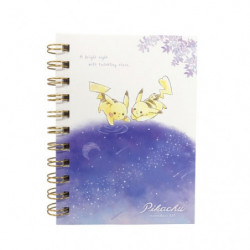 Ring Notebook Pikachu number025 Starry Sky