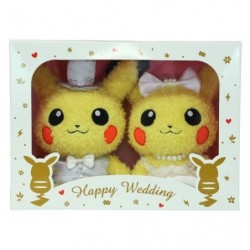 Pikachu Moko Moko Wedding japan plush