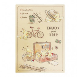 Desk Pad Pikachu number025 Travel