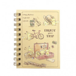 Ring Notebook Pikachu number025 Travel