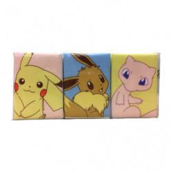 Mouchoirs Pikachu Évoli Mew
