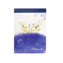 Mini Memo Pikachu number 025 Starry Sky III