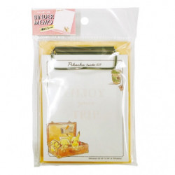 Binder Memo Pikachu number 025 Travel