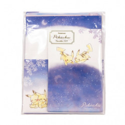 Letter Set Pikachu number025 Starry Sky