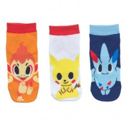Short Sock 3x Set pokemon time DP(A1) japan plush