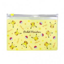Pochette Transparente Pikachu Face