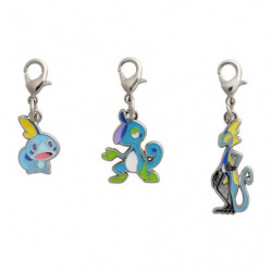 Keychain Sobble Drizzile and Inteleon Zenkoku Zukan