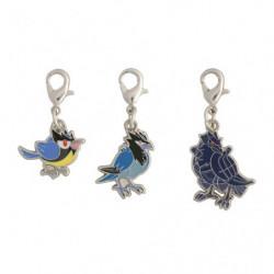 Porte-clés Minisange Bleuseille et Corvaillus Zenkoku Zukan