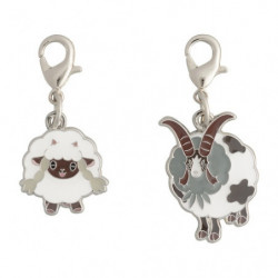 Keychain Wooloo and Dubwool Zenkoku Zukan