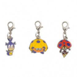 Porte-clés Larvadar Coléodôme et Astronelle Zenkoku Zukan