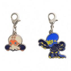 Keychain Clobbopus and Grapploct Zenkoku Zukan